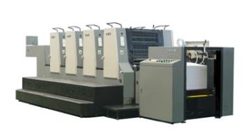 Impressora offset com 4 torres