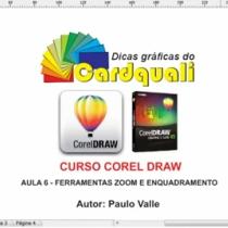 AULA 6 - Curso de Corel Draw - Ferramenta zoom e enquadramento