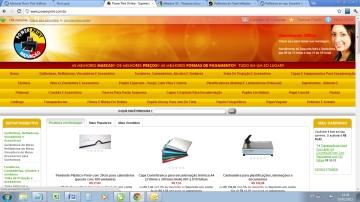 Power Print e-commerce