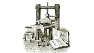 Prensa Tipográfica de Gutenberg