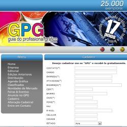GPG - Cadastro