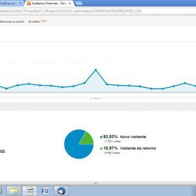 aniversario onze meses blog estatísticas
