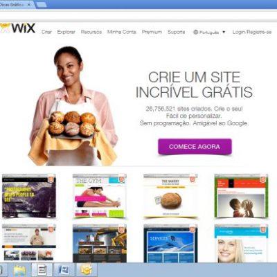 Wix – Construtor de sites grátis